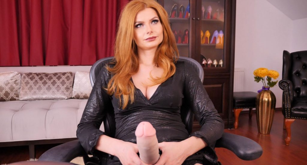 Red Head Mistress Live Femdom Webcam