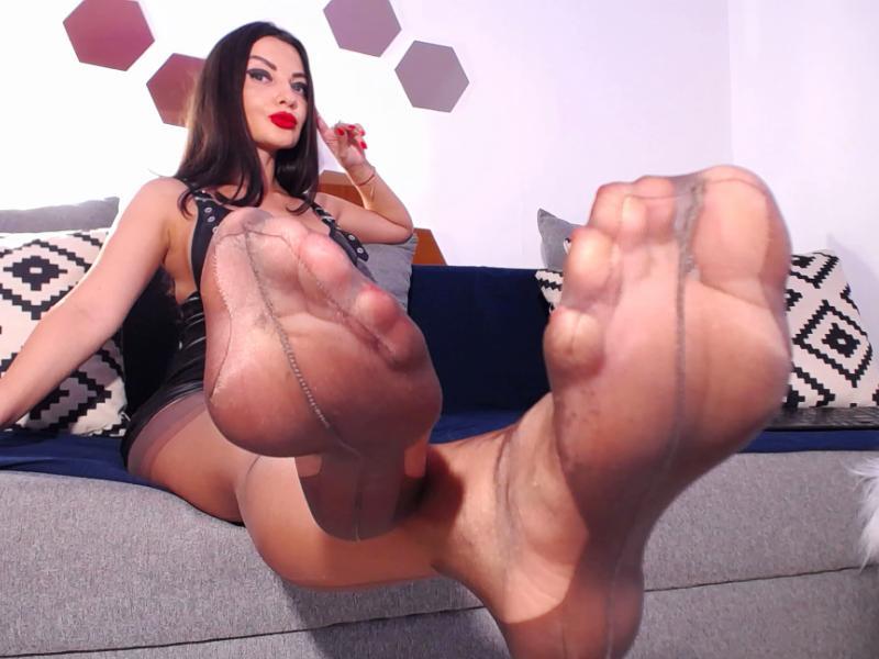 Foot Fetish Mistress Webcam