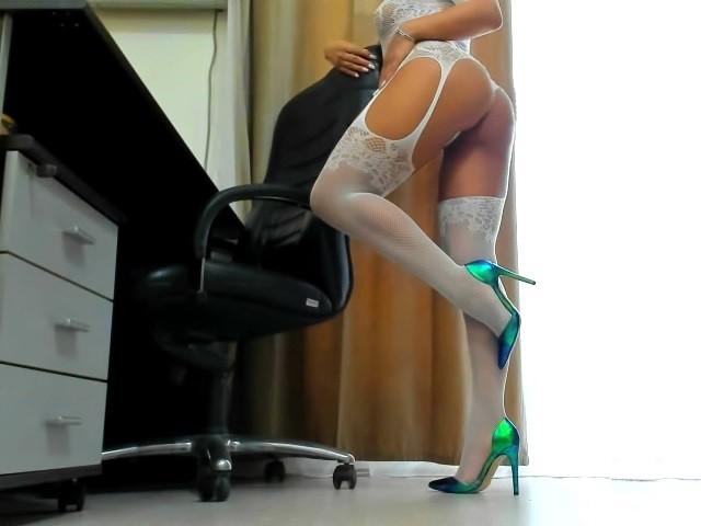 Stocking webcam
